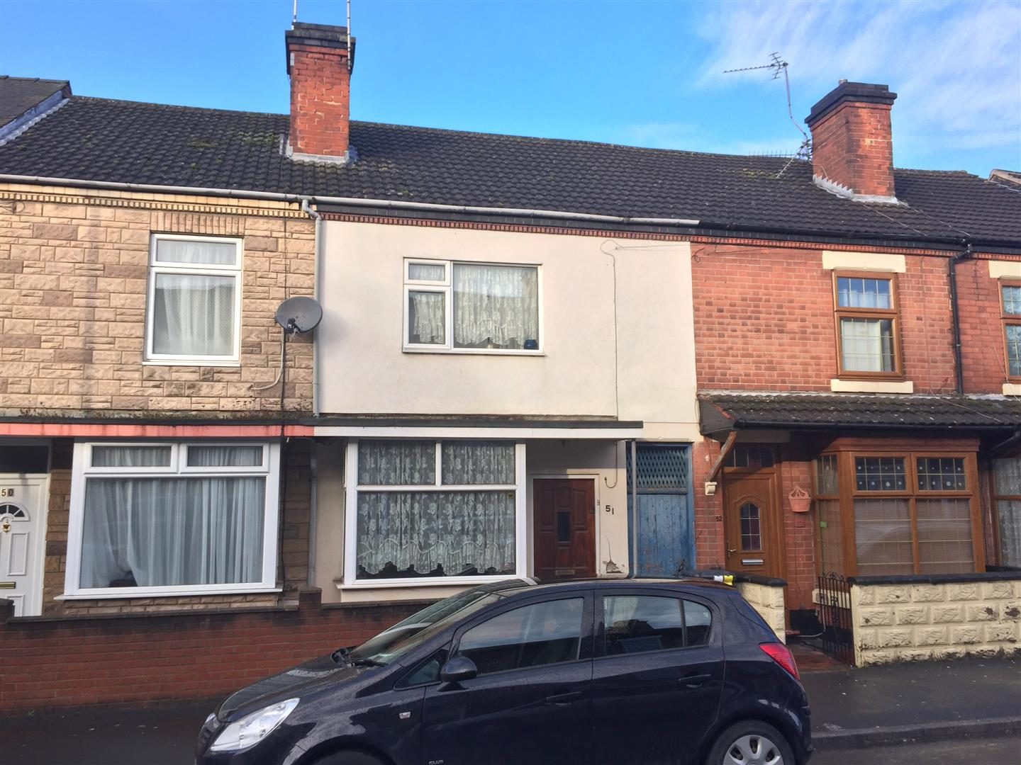 3 Bedrooms Terraced House for sale in Hunter Street, Burton-On-Trent
